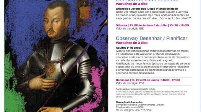 Museu De São Roque | WORKSHOPS DE 3 DIAS Para Crianças E Adultos | JUNHO | Inscrições Abertas