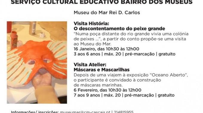 Fins-de-semana Jan-Fev No Museu Do Mar Rei D. Carlos