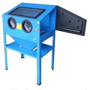 Blasting Booth For Sand jet Small