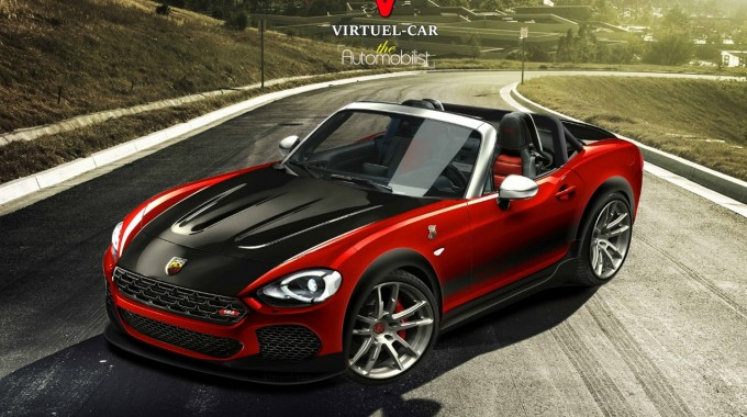 nouvelle Fiat 124 Spider Abarth