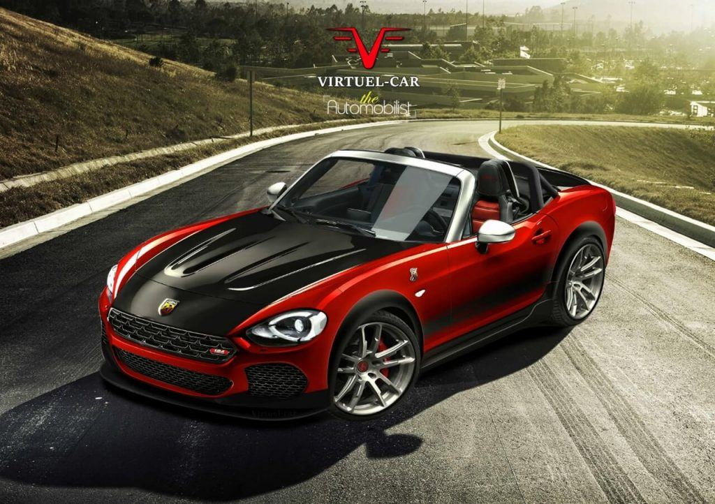 Fiat 124 Spider Abarth Par Virtuel Car.1