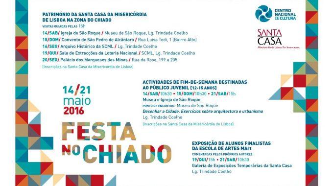 FESTA NO CHIADO | 14 A 21 De Maio | PARTICIPAÇÃO GRATUITA