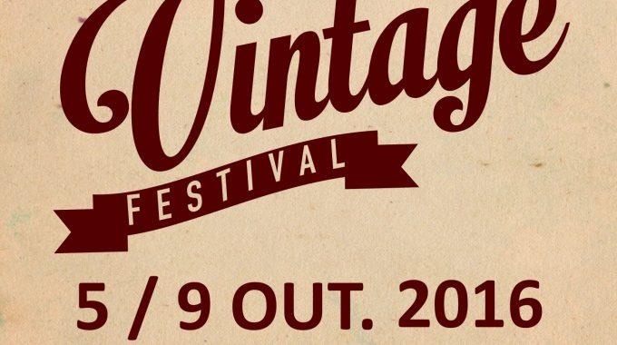 Vintage Festival 5 A 9 De Out 2016