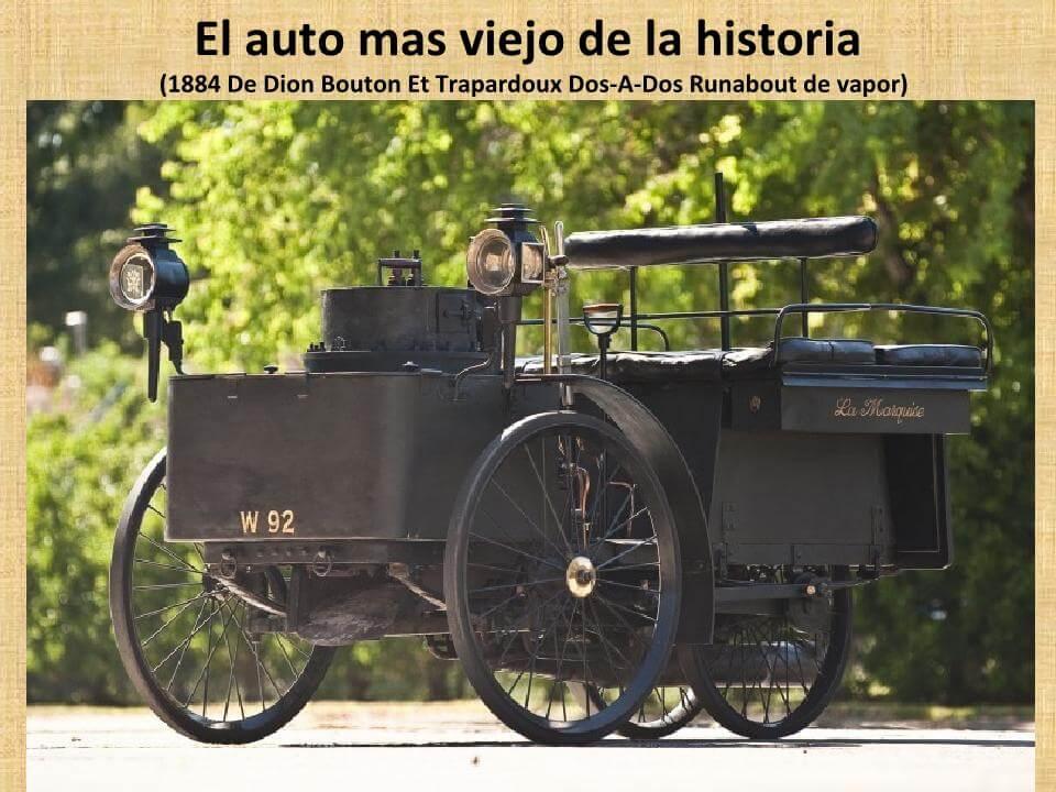 O Automóvel Mais Antigo Da História!