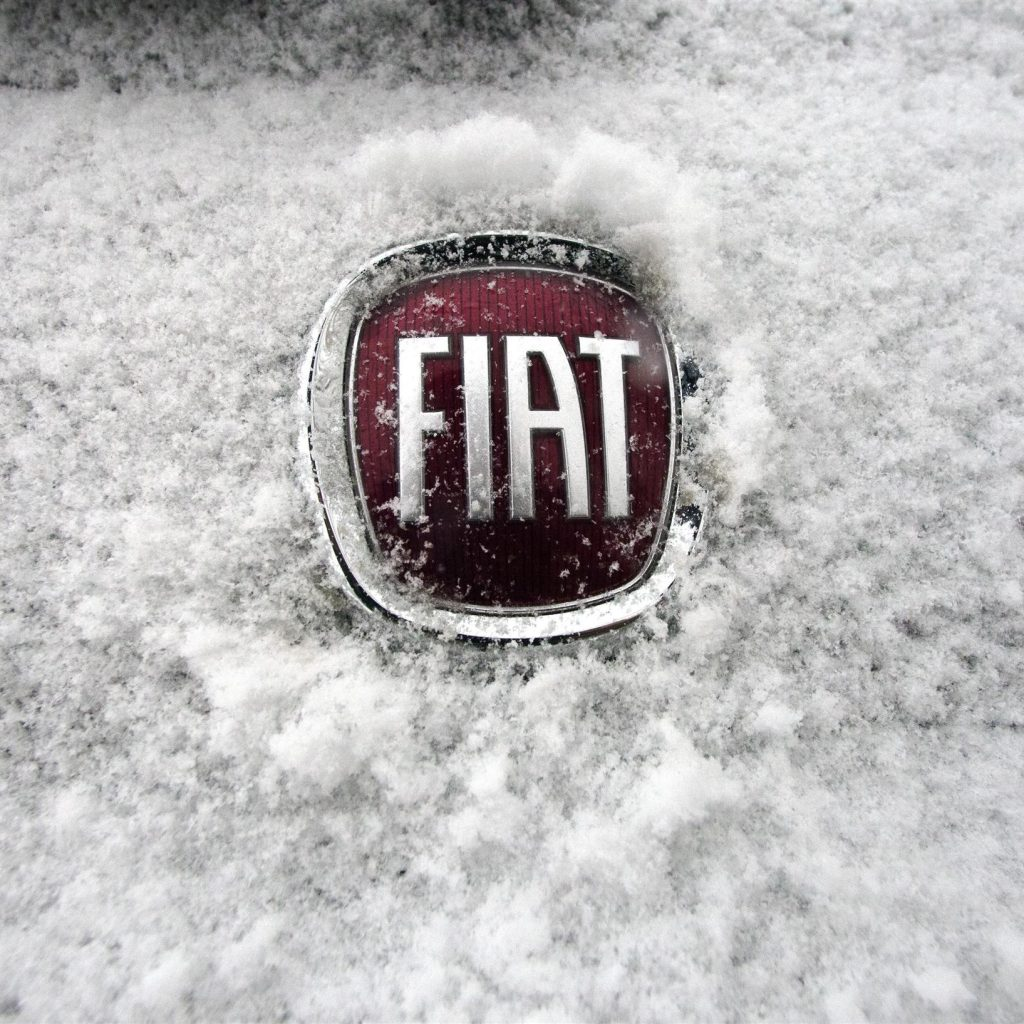 Fiat Snow Emblem Wallpapers