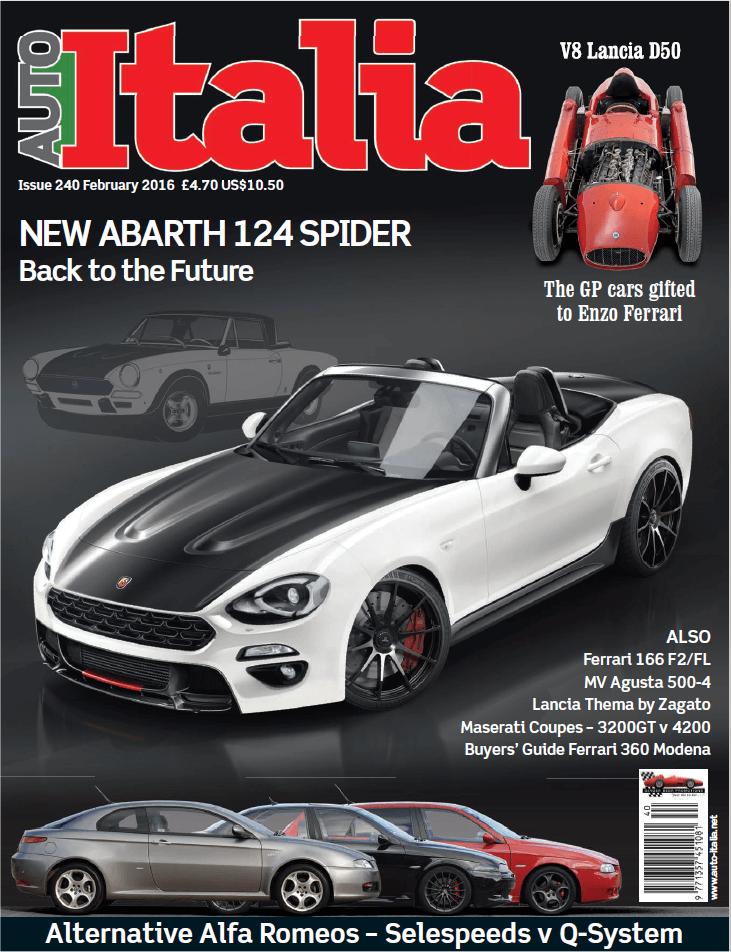Revista Auto Italia – Fevereiro 2016