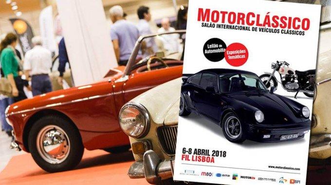 Salão Motorcássico – 6/4 – 8/4 – FIL – Feira Internacional De Lisboa