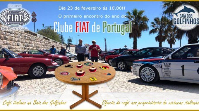 Encontro Mensal Do Clube FIAT De Portugal – 23 – Fevereiro 2019