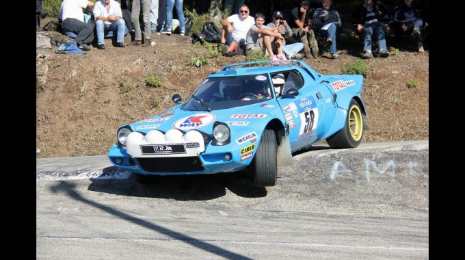 Lancia Stratos Historic Rally Car Group 4 Pure Engine Sound