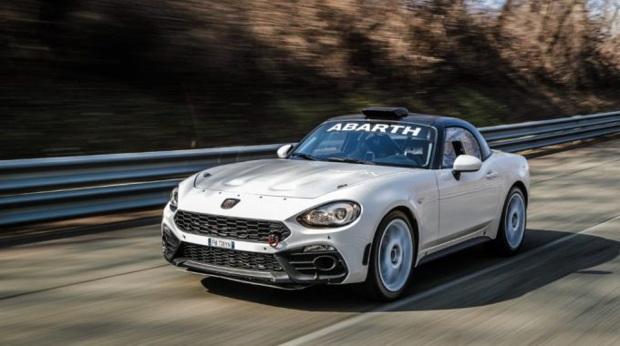 Abarth 124 Rally – Aggiornata La Spider Da Corsa – VIDEO